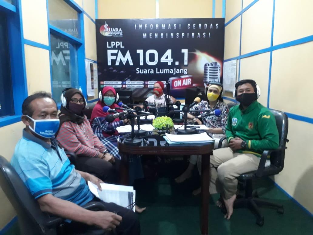 Dialog Interaktif DPMPTSP di Radio Suara Lumajang 104.1 FM Tema Perizinan Usaha, tentang IMB