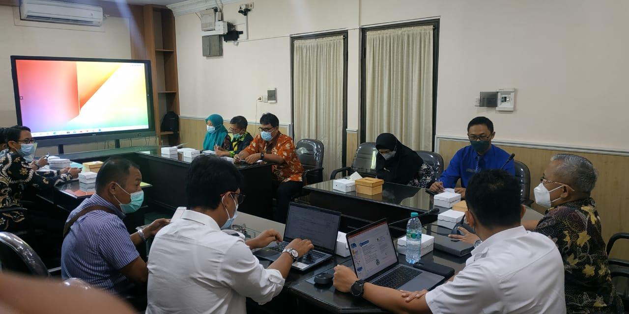 DPMPTSP Hadiri Koordinasi Bersama dengan PT.PGN Tbk