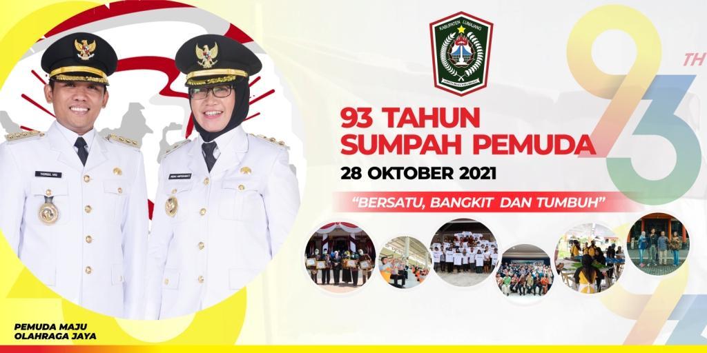 Selamat Hari Sumpah Pemuda 28 Oktober 2021, tetap semangat untuk terus memberikan karya terbaik